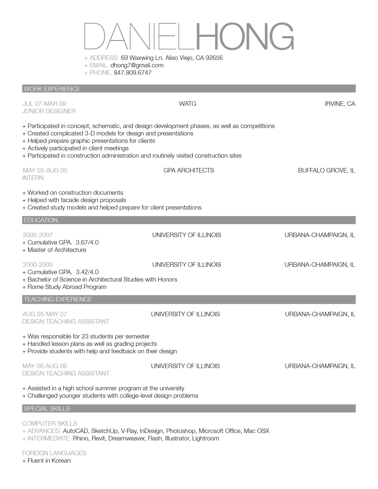 good resume template 53